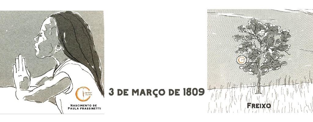 3 DE MARÇO DE 1809: NASCIMENTO DE PAULA FRASSINETTI